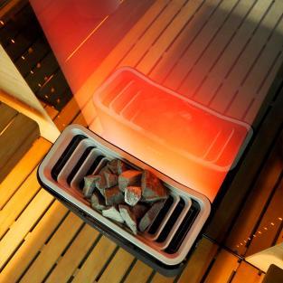 Tylo Expression Combi 10 + RB45 + H1 Черный / Медь / Шампань / Thermosafe  - фото 5