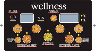 ИК Кабина Wellness LH-904B отделка Красный Кедр - фото 2