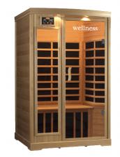 ИК Кабина Wellness LH-902B отделка Канадский Хемлок