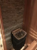 Сауна из Кедра с печью Tylo Sense Combi