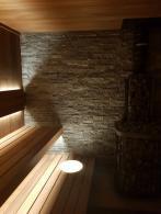Баня из Широкого ТермоАБАША с печью Kastor